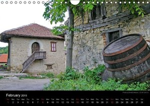 Monuments of Serbia 2015 (Wall Calendar 2015 DIN A4 Landscape)