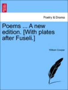 Poems ... Vol. II, A new edition. [With plates after Fuseli.]