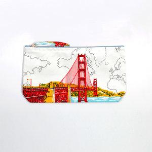 Tasche, siebgedruckt- Design San Francisco