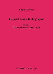 Heinrich Mann-Bibliographie