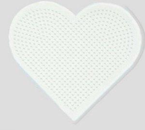 Hama 236 - Stiftplatte Herz für Midi-Bügelperlen