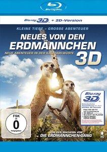 Neues von den Erdmännchen 3D - Neue Abenteuer in der Kalahari-Wü
