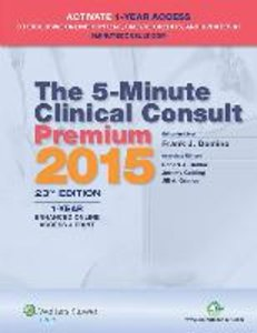 The 5-Minute Clinical Consult Premium 2015