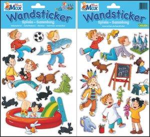 Meine Max Wandsticker: Spiele-Sammlung