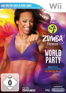 Zumba Fitness World Party. Nintendo Wii