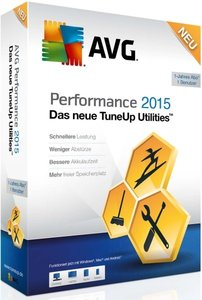 AVG TuneUp 2015 Utilities (1PC/1Jahr)