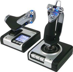 Saitek X52 Flight Control System, PC Flug-Steuerungs-System