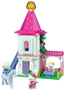 BIG 800057046 - PlayBIG BLOXX: HELLO KITTY PRINCESS TURM