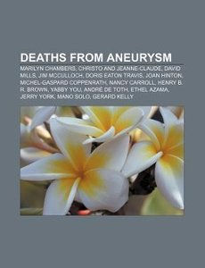 Deaths from aneurysm