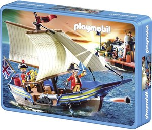 Schmidt Spiele 56606 - Playmobil: Segel gesetzt! 60 Teile Puzzle