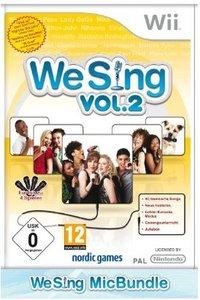 We Sing 2 inkl. 2 Mikrofone