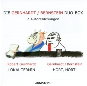 Die Gernhardt /Bernstein Duo-Box (Lokal-Termin, Hört, hört!)