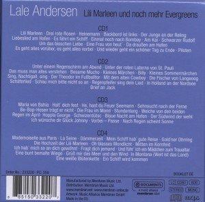 Lili Marleen und noch mehr Evergreens