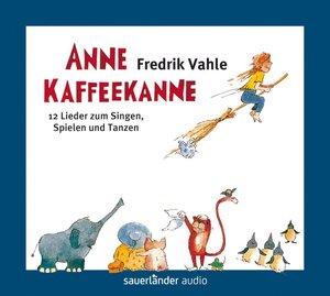 Anne Kaffeekanne. Limitierte Edition mit 5 Stickerbögen