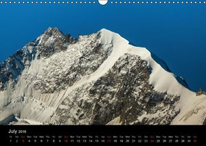Majestic Mountains of Switzerland 'UK-Version' (Wall Calendar 20