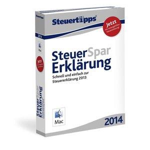Steuer-Spar-Erklärung 2014 Mac-Version - Schnell und einfach zur