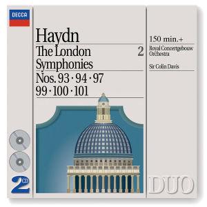 Sinfonien 92,93,97,99-101