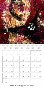 amazing canvas art exhibition (Wall Calendar 2015 300 × 300 mm S