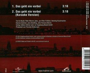 Das Geht Nie Vorbei (2-Track)
