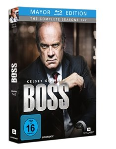 Boss-Die Komplette Serie (Mayor Blu-ray Edition)