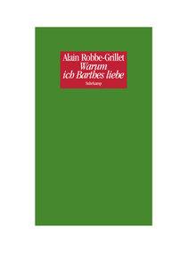 Warum ich Barthes liebe