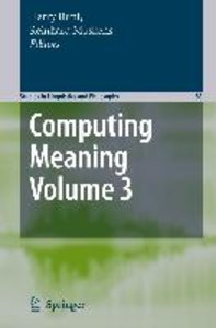 Computing Meaning, Volume 3