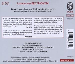 Violinkonzert/2 Romanzen