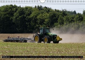 Landmaschinen zum Anfassen nah (Wandkalender 2016 DIN A4 quer)