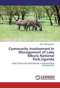 Community involvement in Management of Lake Mburo National Park,
