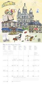 Paris 2016 Broschürenkalender