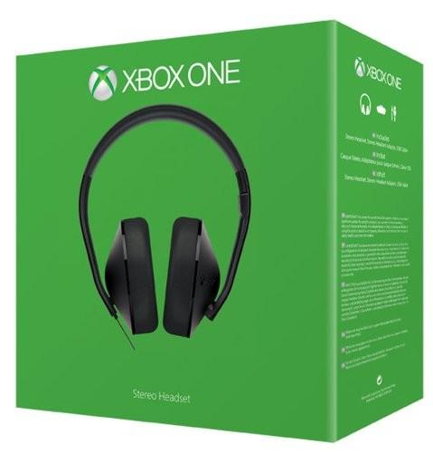 Microsoft Xbox One Stereo Headset - Schwarz - zum Schließen ins Bild klicken
