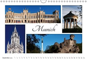Beautiful Bavaria (Wall Calendar 2016 DIN A4 Landscape)