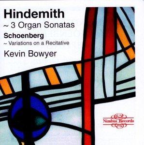 Hindemith 3 Organ Sonatas