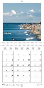 Costa del Sol Impressions (Wall Calendar 2015 300 × 300 mm Squ