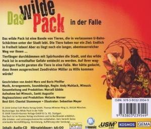 Das wilde Pack Folge 5: Das Wilde Pack in der Falle (Audio-CD)