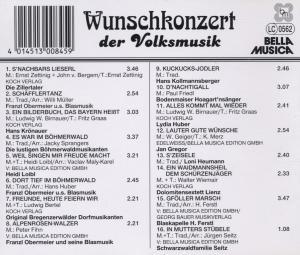 Wunschkonzert Der Volksmusik