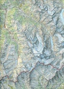 Swisstopo 1 : 100 000 Val de Bagnes