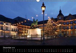 Düsseldorf Abendstimmungen und Nachtansichten (Wandkalender 2016