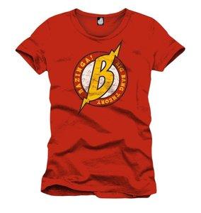 Big Bang Theory - Big B - T-Shirt - Rot - Größe XL