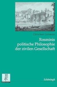 Rosminis politische Philosophie der Zivilen Gesellschaft
