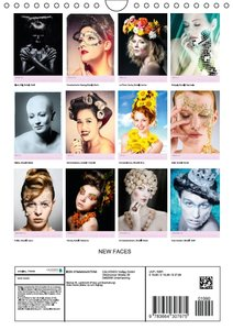 NEW FACES (Wandkalender 2016 DIN A4 hoch)