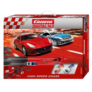 Carrera 20040024 - Digital 143 High Speed Chase Auto, Rennbahn m