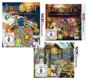 Jewel Quest Edition - 3in1 (The Seventh Gate+Heritage+The Sapphi