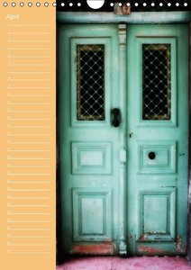Greek Windows and Doors (Wall Calendar perpetual DIN A4 Portrait