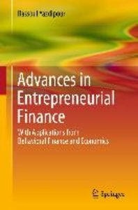 Advances in Entrepreneurial Finance
