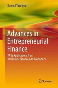 Advances in Entrepreneurial Finance