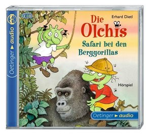 Die Olchis. Safari bei den Berggorillas (2 CD)