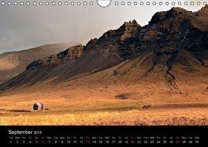 Icelandic Colors (Wall Calendar 2015 DIN A4 Landscape)