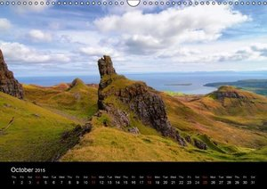 "Scotland - Mirror of the Soul ""UK-Version"" (Wall Calendar 2015 D"