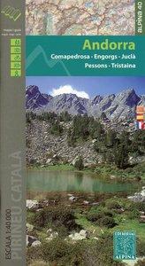 Andorra Wanderkarte 1 : 40 000